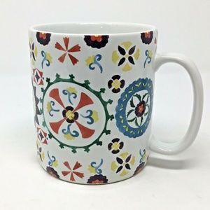 Cynthia Rowley~Large Mug~Coffee Cup~Paisley~24 oz~
